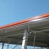 قیمت هرمترمربع سقف شیروانی,سقفهای شیبدار فلزی,سقف سوله ,خرپا